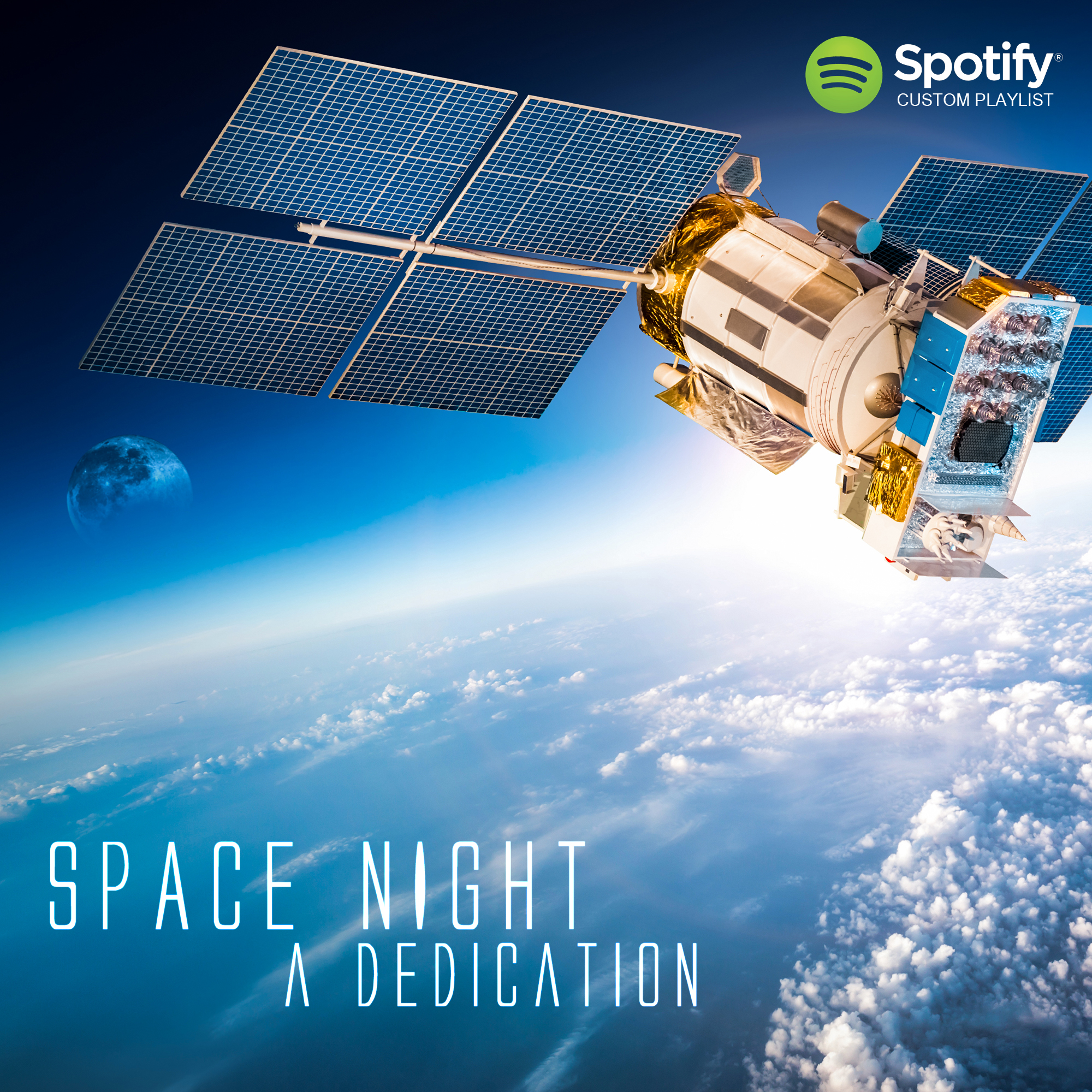 Space Night Spotify Playlist